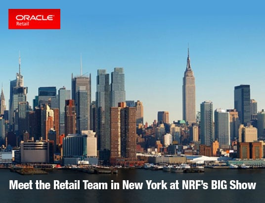 Meet the Retail Team in New York at NRF's BIG Show