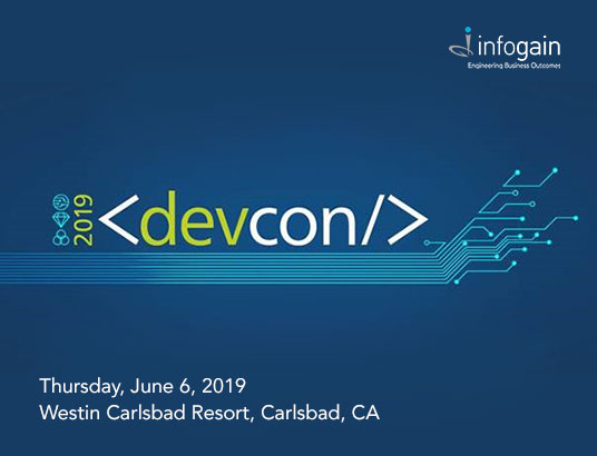 Infogain at Mitchell's DevCon 2019