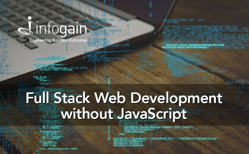 Full Stack Web Development without JavaScript