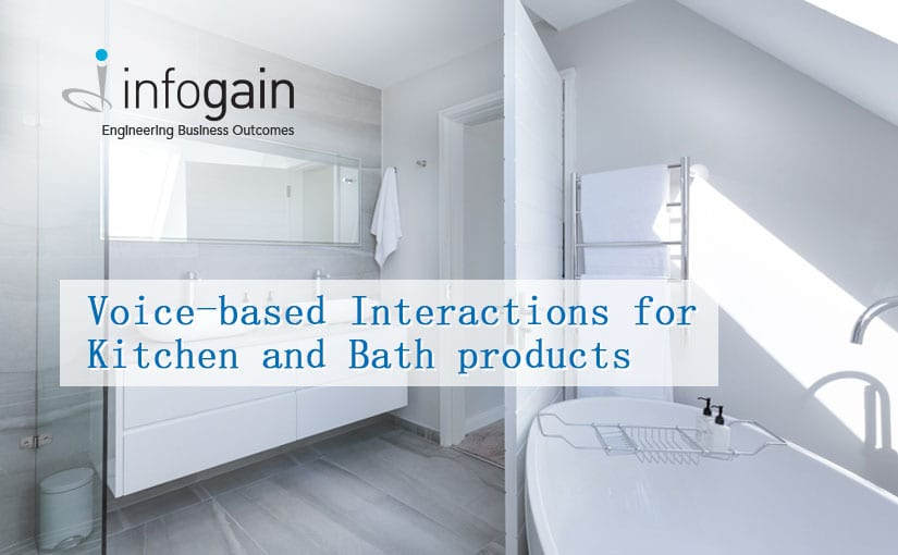 Infogain enables Azure's voice-based Interactions for CES Award winning Kitchen and Bath products company