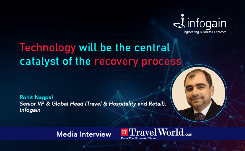 Technology will be the central catalyst of the recovery process