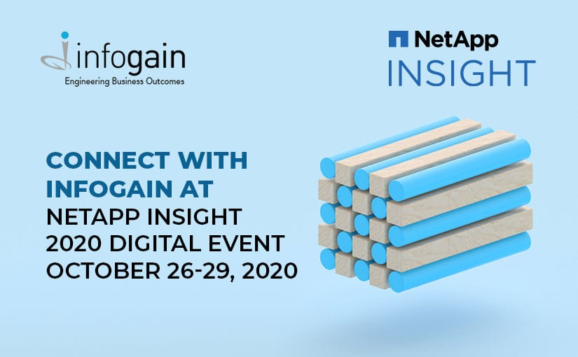 Connect with Infogain at the NetApp INSIGHT 2020