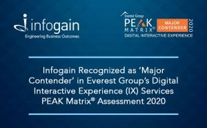 Infogain Recognized as 'Major Contender' in Everest ...