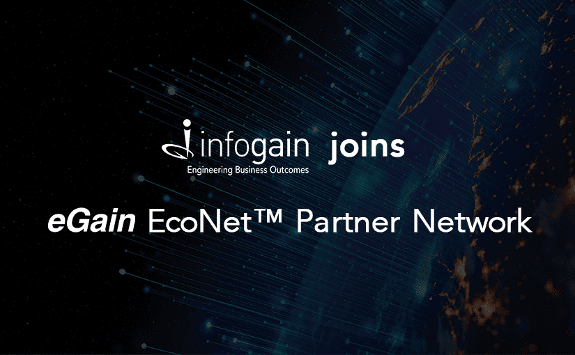 Infogain Joins eGain EcoNet™ Partner Network