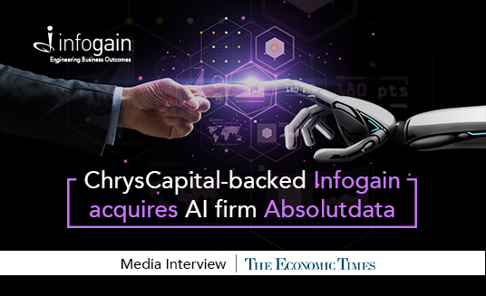 ChrysCapital-backed Infogain acquires AI firm Absolutdata