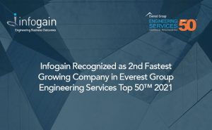 Infogain, 2nd Fastest Growing Company